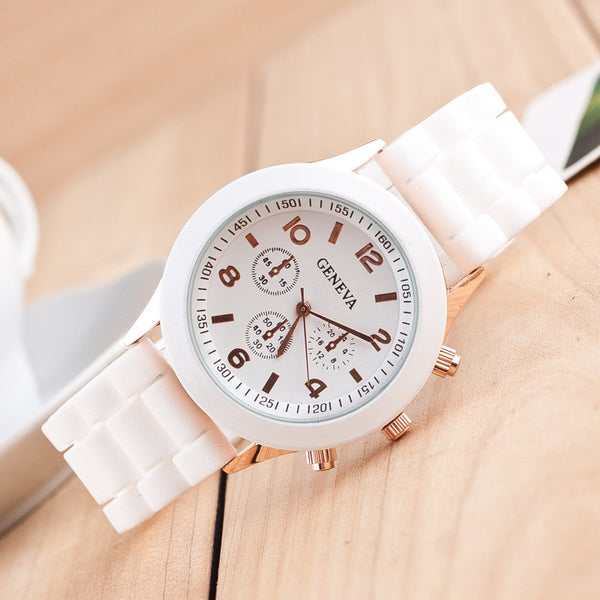 Fashion Colorful Jelly Students Leisure Watch - Oh Yours Fashion - 1