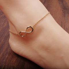 Simple Fashion Luky Number 8 Anklet - Oh Yours Fashion - 1