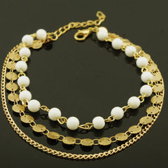 Bohemia Beads Sequins Anklet - Oh Yours Fashion - 2