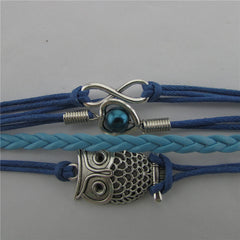 Beautiful Hollow Out Owl Bracelet - Oh Yours Fashion - 3