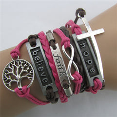Fashion Tree Of Life Multilayer Woven Bracelet - Oh Yours Fashion - 2