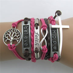 Fashion Tree Of Life Multilayer Woven Bracelet - Oh Yours Fashion - 1