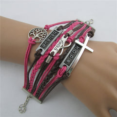 Fashion Tree Of Life Multilayer Woven Bracelet - Oh Yours Fashion - 5