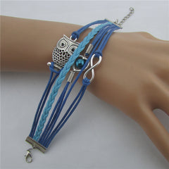 Beautiful Hollow Out Owl Bracelet - Oh Yours Fashion - 4