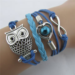 Beautiful Hollow Out Owl Bracelet - Oh Yours Fashion - 2