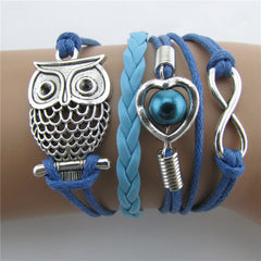 Beautiful Hollow Out Owl Bracelet - Oh Yours Fashion - 1