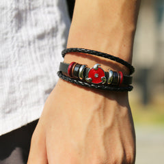 Anime Leather Students Bracelet - Oh Yours Fashion - 5
