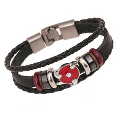 Anime Leather Students Bracelet - Oh Yours Fashion - 1