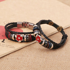Anime Leather Students Bracelet - Oh Yours Fashion - 3