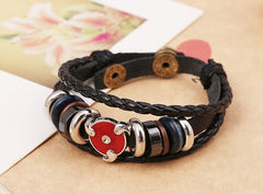 Anime Leather Students Bracelet - Oh Yours Fashion - 2
