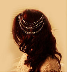 Beautiful Pearl Tassel Combs Hair Accessories - Oh Yours Fashion - 2