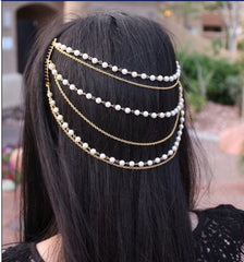 Beautiful Pearl Tassel Combs Hair Accessories - Oh Yours Fashion - 1