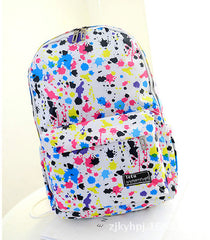 Graffiti Style Fashion Canvas School Backpack Bag - Oh Yours Fashion - 7