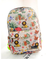 Graffiti Style Fashion Canvas School Backpack Bag - Oh Yours Fashion - 3