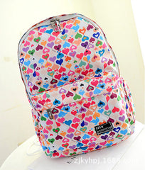 Graffiti Style Fashion Canvas School Backpack Bag - Oh Yours Fashion - 8
