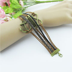 Retro BESTFRIEND Multilayer Woven Bracelet - Oh Yours Fashion - 6