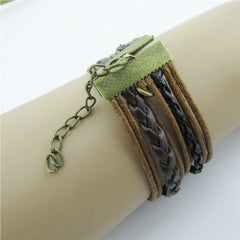 Retro BESTFRIEND Multilayer Woven Bracelet - Oh Yours Fashion - 2