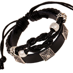 European Popular Leather Personality Bracelet - Oh Yours Fashion - 1