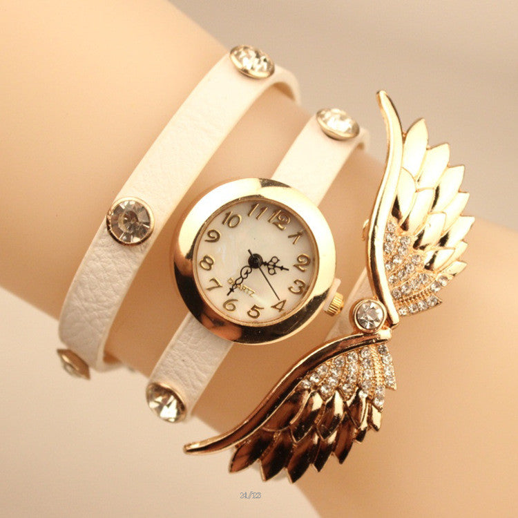Angel's Wings Pu Strap Watch - Oh Yours Fashion - 1