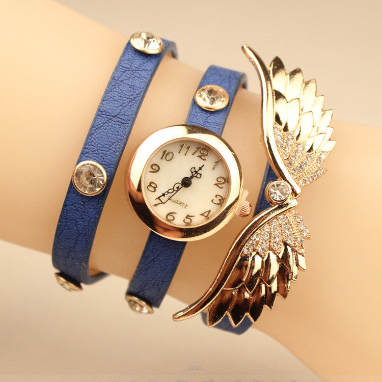 Angel's Wings Pu Strap Watch - Oh Yours Fashion - 3