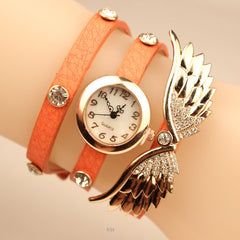 Angel's Wings Pu Strap Watch - Oh Yours Fashion - 2