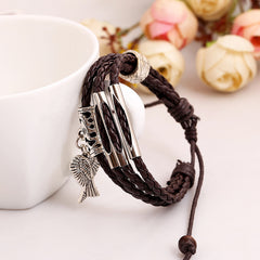 Angel's Wings Multilayer Woven Bracelet - Oh Yours Fashion - 2