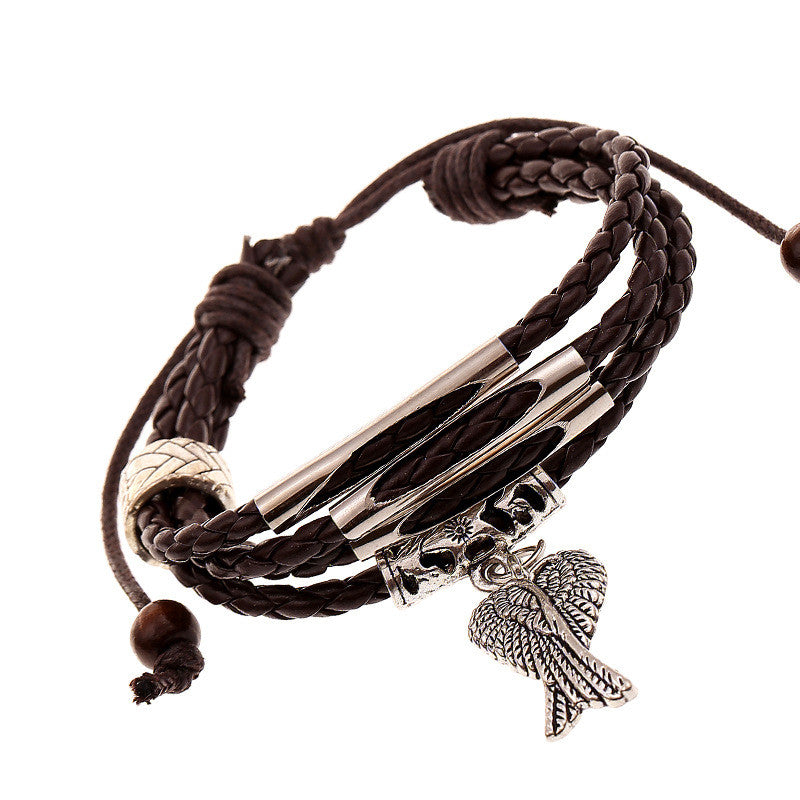 Angel's Wings Multilayer Woven Bracelet - Oh Yours Fashion - 1
