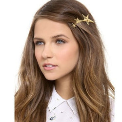 Fashion Three Gold Stars Hairpin - Oh Yours Fashion - 1