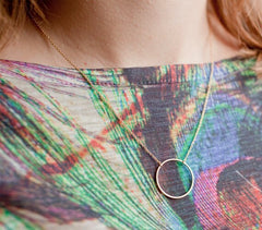 Hot Style Personality Fashion Circle Necklace - Oh Yours Fashion - 2