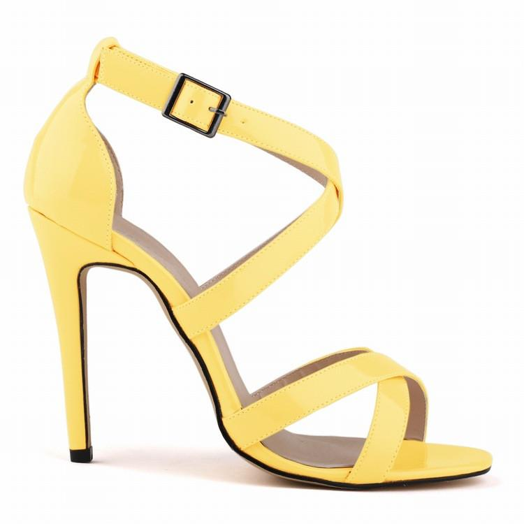 Peep-Toe Sexy High Heels Women's Sandals