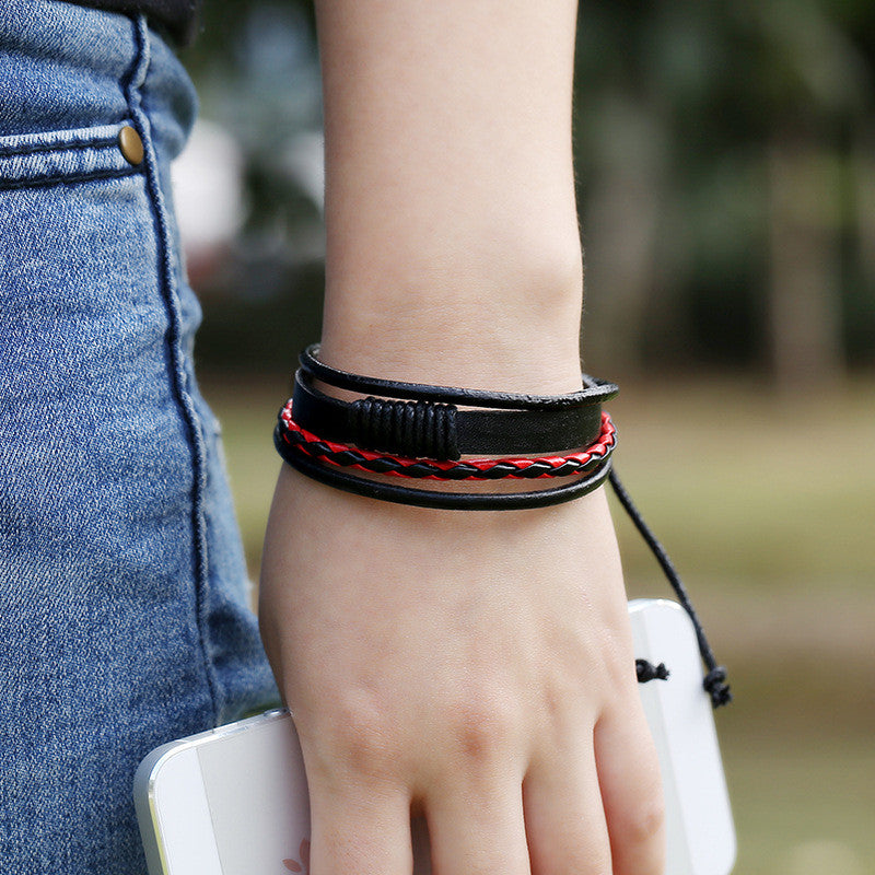 Personality Woven Multilayer Bracelet - Oh Yours Fashion - 5