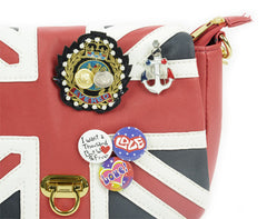 UK Flag Badge Handbag Shoulder Bag - Oh Yours Fashion - 6