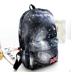 Starry Sky Print Fashion School Backpack - Oh Yours Fashion - 4