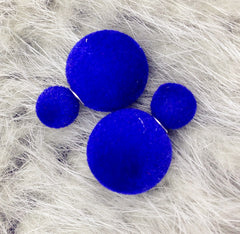 Korea Style Velvet Ball Fashion Earring - Oh Yours Fashion - 16