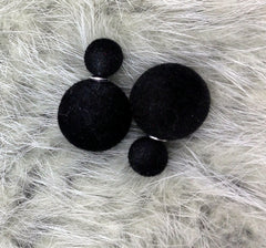 Korea Style Velvet Ball Fashion Earring - Oh Yours Fashion - 13
