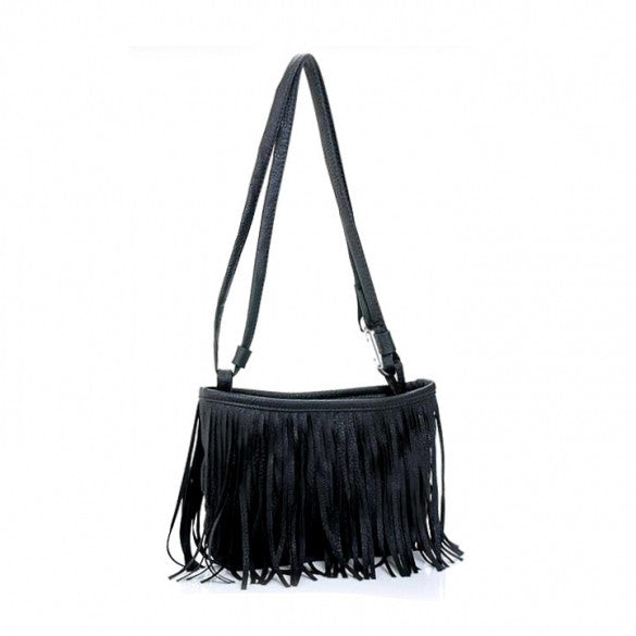 2016 New Arrival Hotsale Women's Tassel Shoulder Bag Cross Handbag - Oh Yours Fashion - 1
