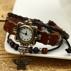 Butterfly Handmade Woven Bracelet Watch - Oh Yours Fashion - 3