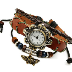 Butterfly Handmade Woven Bracelet Watch - Oh Yours Fashion - 2