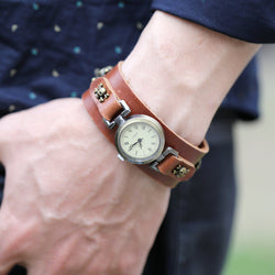 Simple Fashion Handmade Leather Watch - Oh Yours Fashion - 1