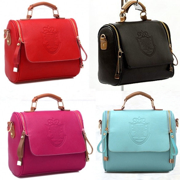 Women Handbag Cross Body Shoulder Bag Messenger Bag - Oh Yours Fashion - 1