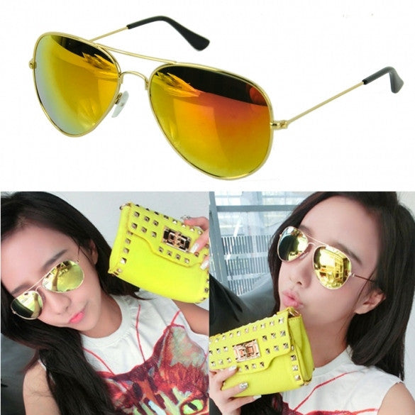 Hot Vintage Style Unisex Reflective Colorful Sunglasses - Oh Yours Fashion - 1
