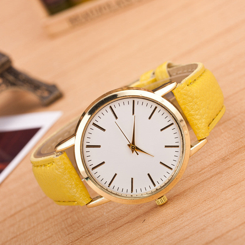 Fashion Marble Mirror Quartz Leisure Watch - Oh Yours Fashion - 3