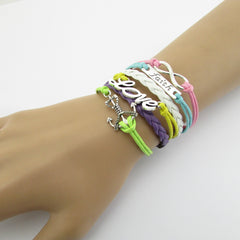 Multilayer Composite Woven Wax Rope Bracelet - Oh Yours Fashion - 2