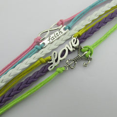 Multilayer Composite Woven Wax Rope Bracelet - Oh Yours Fashion - 3