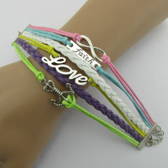 Multilayer Composite Woven Wax Rope Bracelet - Oh Yours Fashion - 4