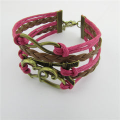 Eiffel Tower Heart Multilayer Woven Bracelet - Oh Yours Fashion - 3