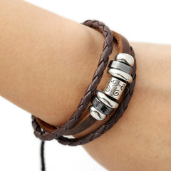 Fashion Alloy Decorate Multilayer Bracelet - Oh Yours Fashion - 3