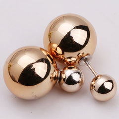 Candy Color Big Little Pearl Earring - Oh Yours Fashion - 15