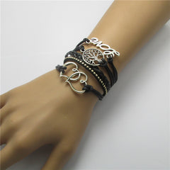Personality Love Tree Woven Bracelet - Oh Yours Fashion - 5
