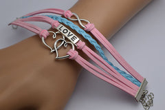 Double Heart Woven Retro Bracelet - Oh Yours Fashion - 2